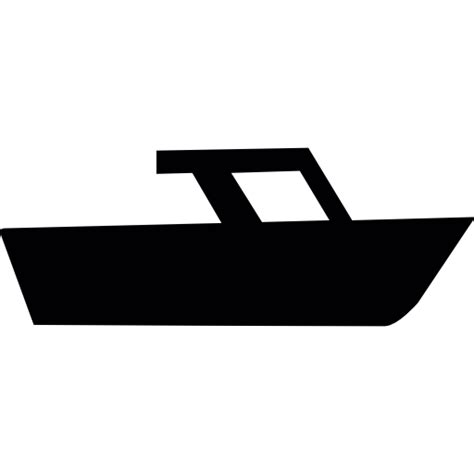 speed boat icon speed boat side view silhouette free transport icons