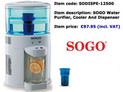 Dispenser Sogo sodispe12500 sogo water purifier cooler dispenser