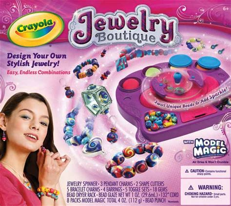 crayola bead maker crayola model magic jewelry studio toys