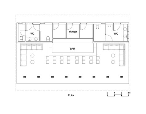 floor plan bar gallery of naman retreat beach bar vtn architects 16