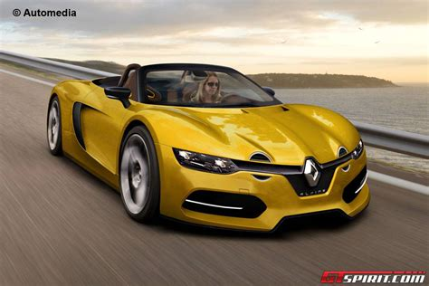 renault sports car renault s alpine sports car drops its top gtspirit