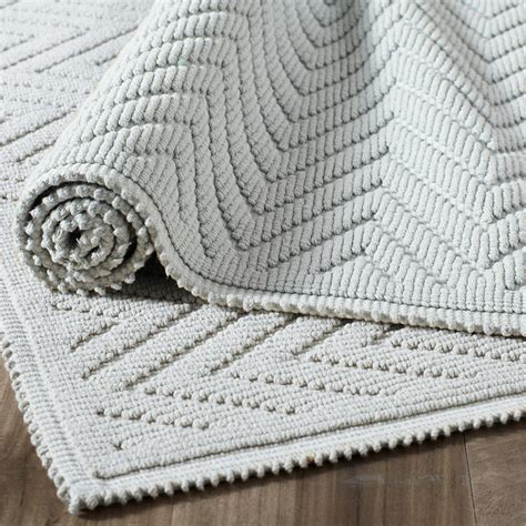 White Chevron Bath Rug Prefab Homes How To Clean Chevron Bathroom Rug