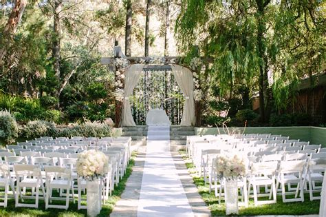 wedding ceremony in california top wedding venues in southern california fabulously engaged