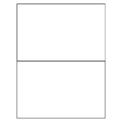 Folded Note Cards Template by Avery Card Template