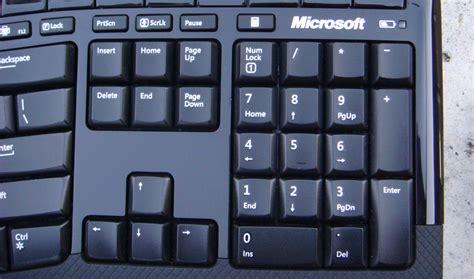 Keyboard Numeric microsoft wireless comfort desktop 5000 skatter