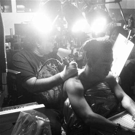 new tattoo taeyang taeyang gets inked in new york city