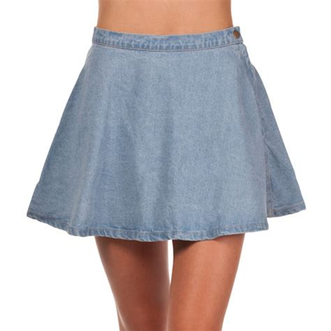 mooloola denim skater skirt from city