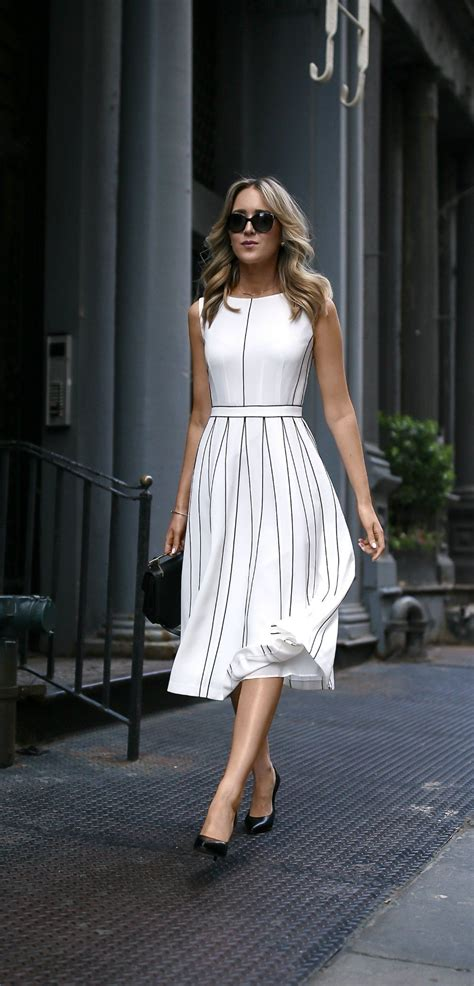 Pleated A Line Midi Dress white pleated sleeveless a line midi dress with black