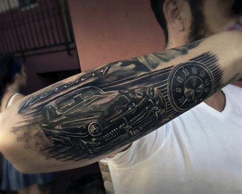vehicle tattoo designs 70 car tattoos for cool automotive design ideas