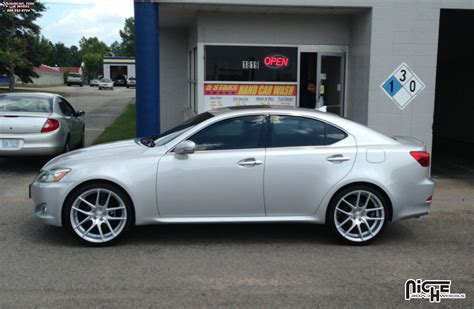 2012 lexus is 250 custom lexus is250 niche targa m131 wheels silver machined