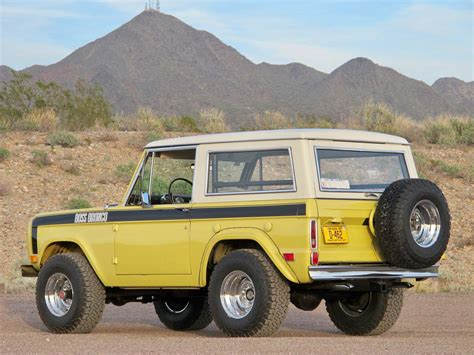 bronco prototype prototype 1969 ford bronco resurfaces after 40 years