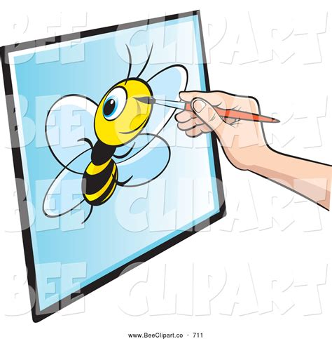 Drawing Clipart by Royalty Free Bug Stock Bee Designs Page 9