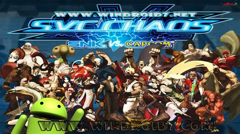 capcom apk snk vs capcom svc chaos plus v1 0 5 apk exclusiva by www windroid7 juegos y