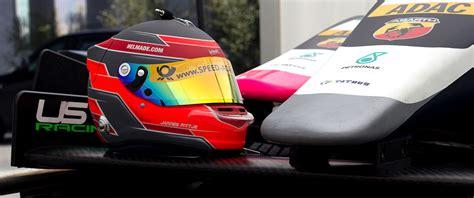 helm experience design helmade supports adac formula 4 pilot jannes fittje
