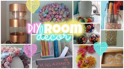diy room decor simple colorful
