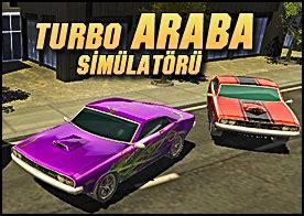 turbo araba simuelatoerue  oyunu tuerkce oyunlar