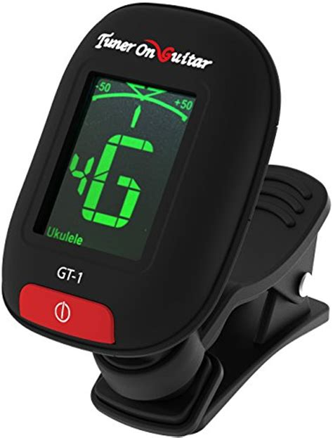 Tuner Gitar Clip On guitar tuner clip on tune acoustic and electric guitars