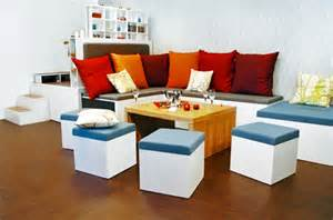 amazing space saving furniture stacks like nesting dolls inhabitat green design innovation