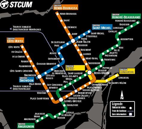 montreal metro map montreal metro map montreal