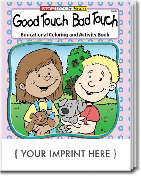 coloring book touch bad touch touch bad touch free coloring pages