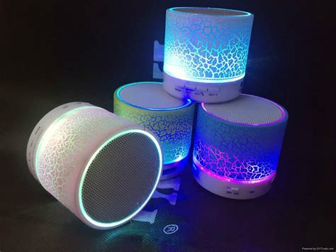 wireless speaker with lights a9 led wireless speaker small colorful portable mini