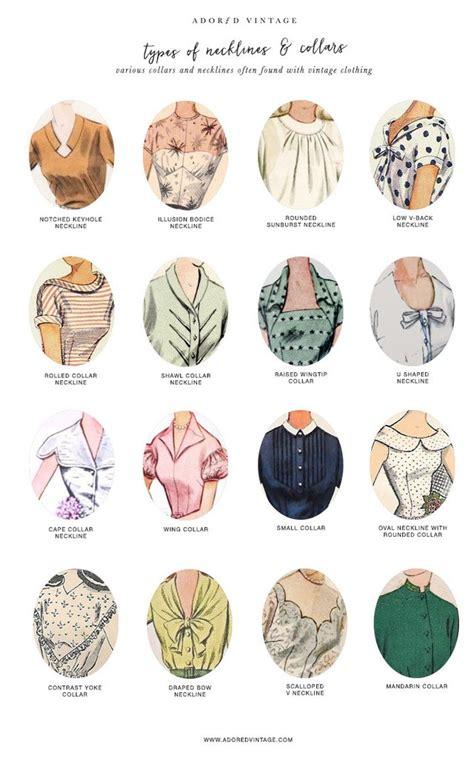 Guide to Vintage Collars & Necklines ? Adored Vintage