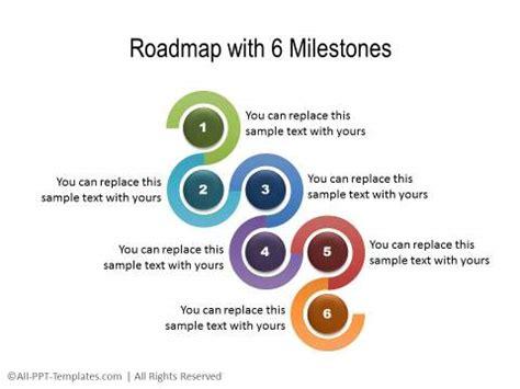 Powerpoint Roadmap Templates Milestone Roadmap Template