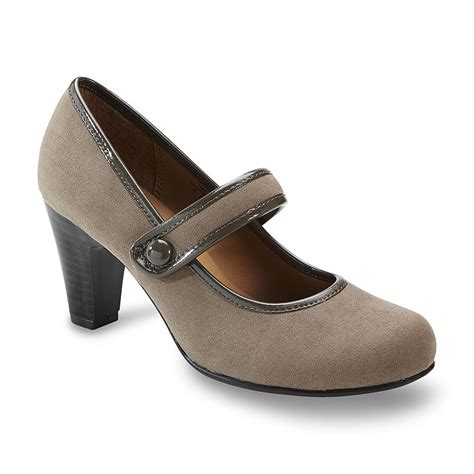 i comfort shoes i love comfort women s dasher mary jane pump gray