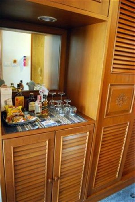 Hotel Mini Bar Cabinet Mini Bar Fridge Is In Cabinet Below Items On Top Picture Of Empress Hotel Chiang Mai