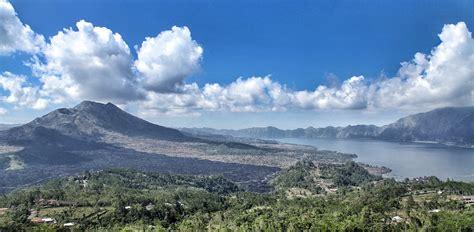 keindahan kintamani  kaldera gunung batur bali