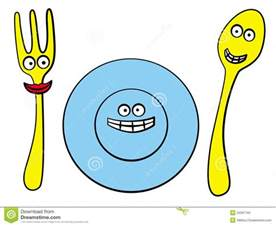 eating utensils clipart clipartfest