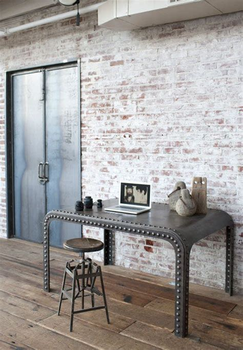interior pictures for office wall industrial wall 21 industrial home office designs with stylish decor