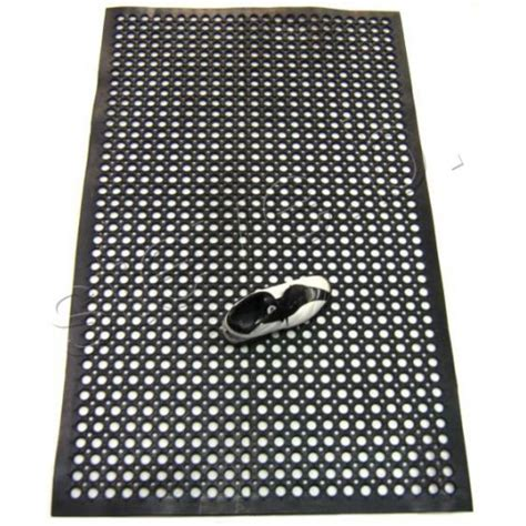 Safety Non Slip Commercial Rubber Mat 1500 x 900mm