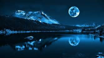 themes hd 3d image for 3d wallpaper of lake and moon wallpaper