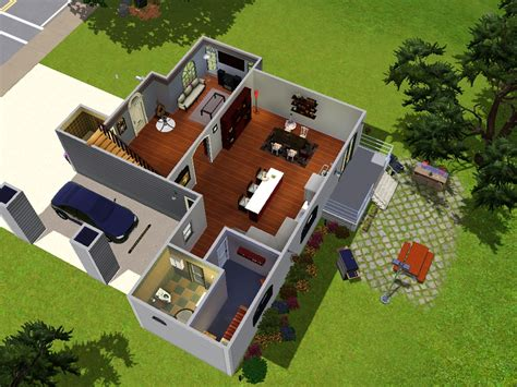 Modern Family House Plans by Floor Plan Of Modern Family House 3d Modern House Plan
