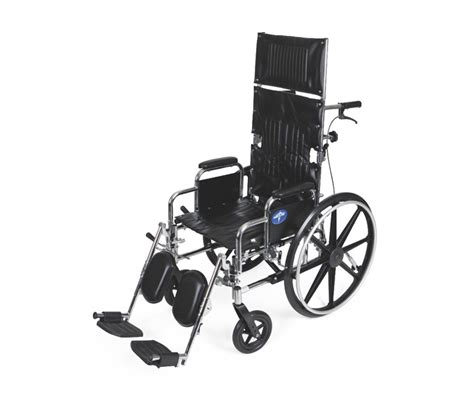 excel reclining wheelchair by medline