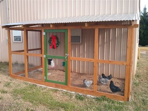 pole barn coop part two the run backyard chickens