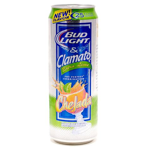 bud light and clamato bud light clamato chelada extra lime 25oz can beer