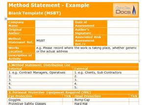 health and safety statement template safety statement template health safety statement