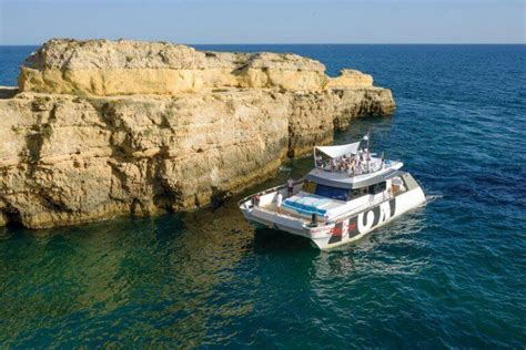 catamaran party albufeira catamaran party with dj best party on the algarve