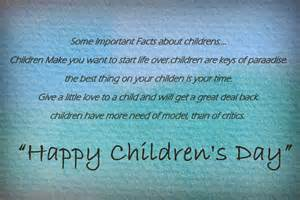 happy childrens day sms messages quotes and poems 2015