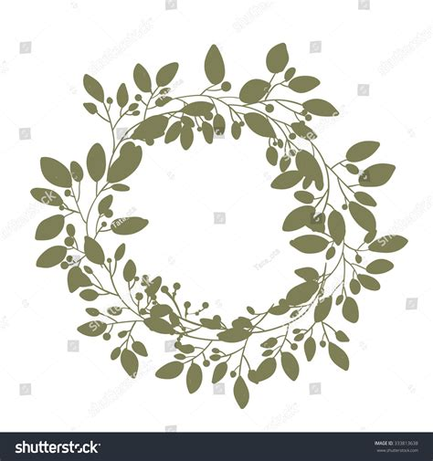 vintage floral elements for design vector stock vector vector flower wreath vintage floral wreath decorative