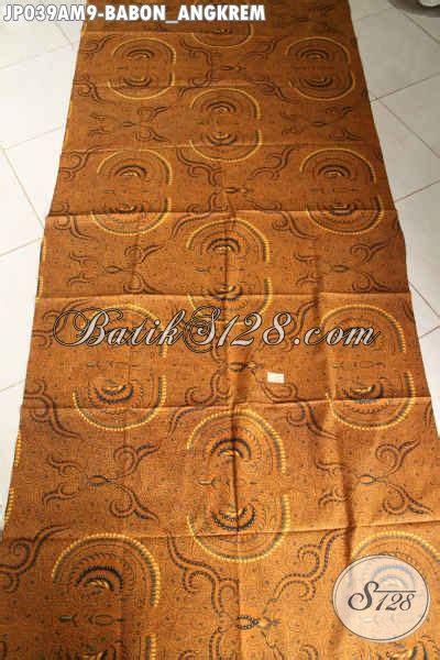 Batik Tulis Motif Babon Angkrem batik jarik elegan mewah harga murah meriah proses