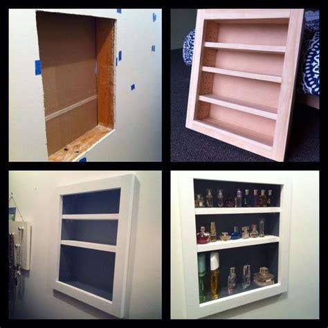 Perfume Shelf by Built In Perfume Shelf Via Yhl Forum Crafty Bish