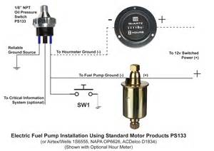 Fuel System Technician Description Pressure Electric Fuel Safety Switch Pressure