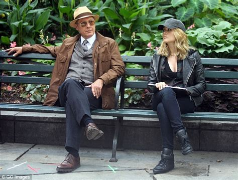Reddington R 8033 Black Gray spader looks cool in a panama hat on the nyc set of the blacklist daily mail
