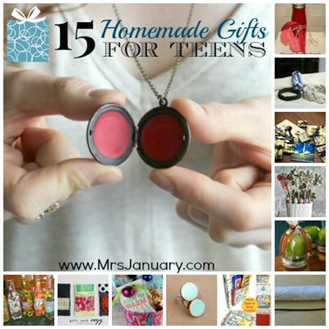 Handmade Gifts For Teenagers - 15 gift ideas for