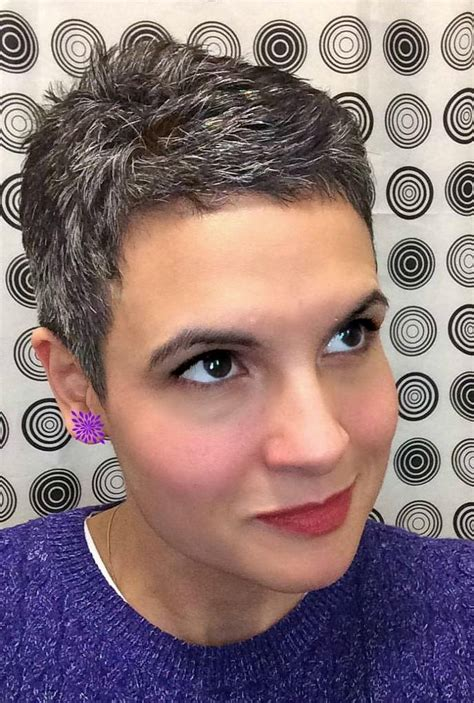 best haircuts for peppered hair short haircuts for salt and pepper hair haircuts models
