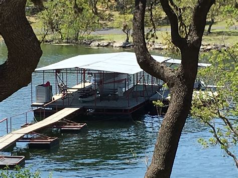 boat r five dock lake front home w private boat dock located a five minute