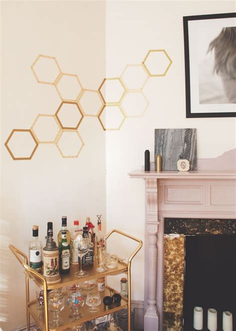 washi honeycomb decor home decorating trends homedit